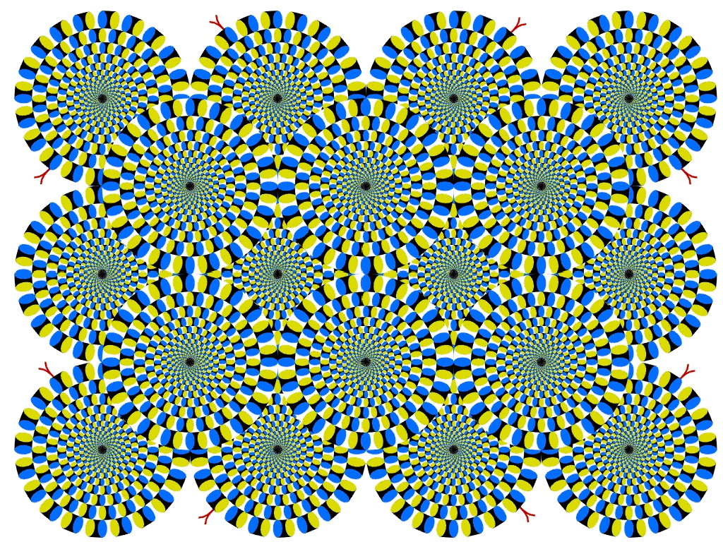 Interesting optical illusion Smarties Box Design